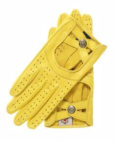 Women's Italian Leather Driving Gloves