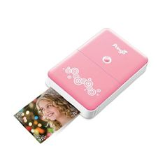 HiTi Pringo Pocket WiFi Photo Printer for Smartphone (Pink) with Pringo 30-Pack Paper Sheets & 3-Dye Ribbon Cartridges