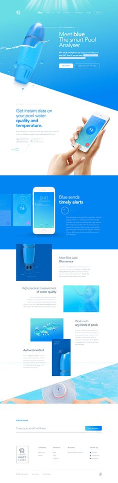 Riiot Labs (More web design inspiration at topdesigninspiration.com) #design #web #webdesign #inspiration #sitedesign #responsive