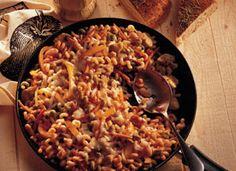 Sicilian Fusilli - great meatless dish