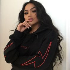 """21.4k Likes, 119 Comments - @melissacalma on Instagram: """"hoodie from @shadowhill_usa ❤⚡️"""""""