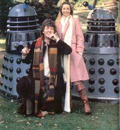 A publicity shot for Destiny of the Daleks.