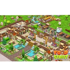 #FoodStreetGame Food Street Game, Hay Day, Restaurant Design, Food Game, Games, Pictures, Beautiful, Android, Ideas