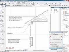 ArchiCAD Detailing: Eaves Detail - YouTube