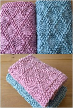 Baby Blanket Knitting Patterns Easy To Advanced PDF Choose from over 15 of the most stunning Baby Blanket Knitting Patterns from beginner to advanced! Shells, hearts, bobbles, basket weaves and more! Easy Knit Baby Blanket, Free Baby Blanket Patterns, Knitted Baby Blankets, Baby Patterns, Kids Knitting Patterns, Free Knitting, Crochet, Tricot Baby, Knit Fashion