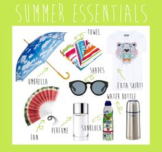 9 Summer Essentials to Survive the Manila Heat Shade Umbrellas, Summer Essentials, Manila, Survival, Perfume, Fragrance
