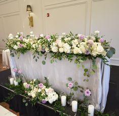 Head Table Wedding, Floral Wreath, Wreaths, Home Decor, Flower Crowns, Door Wreaths, Deco Mesh Wreaths, Interior Design, Home Interior Design
