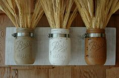 Calming Colors Painted Mason Jars trio on by PineknobsAndCrickets, $39.00