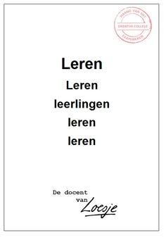 Leren leren leerlingen - Ester van Meeteren - Drenthe College