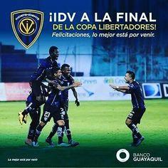 @bancoguayaquil  EN LA FINAL ! Estamos orgullosos de ustedes Independiente Del Valle a seguir haciendo historia en la Copa Libertadores de América #LoMejorEstáPorVenir