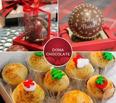 Doces de Natal da Dona Chocolate. Clique na foto para saber o contato para encomendas.