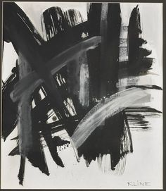 Franz Kline. Franz Kline Paintings, plastic arts, visual arts, art, abstract expressionism