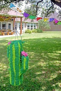Don't miss this incredible Cinco de Mayo Fiesta! What a cool cactus piñata! See more party ideas and share yours at CatchMyParty.com Fiesta Cake, Fiesta Party, Party Activities, Fun Activities For Kids, Mexican Birthday Parties, Girl Birthday, Party Ideas, The Incredibles, Decorations