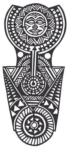Polynesian Tattoo on Pinterest | Maori Tattoos, Polynesian Tattoos ...