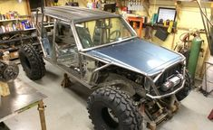 This is where it sits at the moment. It's been a while since I've done an update video on the progress of the scorpion crawler project so here it is. Jeep Wrangler Camping, Jeep Zj, Jeep Xj Mods, Jeep Cars, Jeep Truck, 4x4 Trucks, Custom Trucks, New Fiat, Tube Chassis