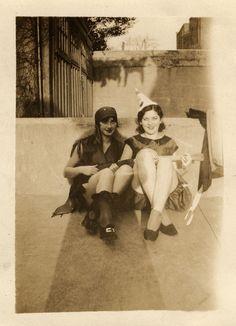 Dottie and Eva, 1929