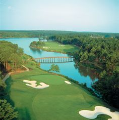 Golfers like to visit nearby Reynolds Plantation, outside Greensboro, GA, about an hour's drive from us.