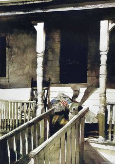 Watercolor // Andrew Wyeth