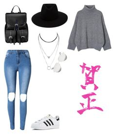 """""""Casual Day"""" by madynd on Polyvore featuring mode, adidas, Aspinal of London, rag & bone et Victoria Beckham"""