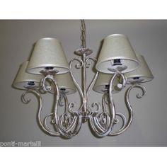 Wrought Iron Chandelier. Customize Realisations. 245 Wrought Iron Chandeliers, Wall Lights, Ceiling Lights, Sconces, Applique, Lighting, Design, Home Decor, Appliques
