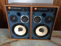 JBL4312Mスピーカー★取付金具付(天吊用と壁掛用をセット)_画像2 Speaker System, Boombox, Speakers, Auction, Classic, Vintage, Audio System, Derby, Classic Books