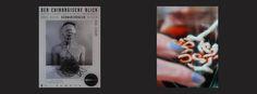 """After the link to the movie scene from Goldrush (1925): Charlie Chaplin eating his shoe, this time a link to Werner Herzog cooking and eating his shoe. (Werner Herzog löst eine Wette ein und ißt seinen Schuh / youtube) Plakat Ausstellung 2009 """"Brus Muehl Schwarzkogler Nitsch . Der chirurgische Blick. Wiener Aktionismus Sammlung Konzett"""" Glas: Rosenthal Studio Line, Serie: Papyrus Design Michael Boehm Part of """"Weaving Diary Tapestry Aktion Tagebuch Teppich Tapisserie Tagebuch weben 365 days…"""