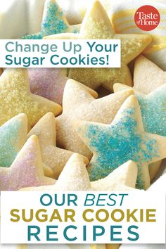 Our Best Sugar Cookie Recipes You want the best sugar cookie recipe when it comes time to bake up a treat and we've rounded up our very best just for you. Halloween Desserts, Halloween Sugar Cookies, Christmas Sugar Cookies, Holiday Cookies, Christmas Treats, Valentine Cookies, Easter Cookies, Birthday Cookies, Christmas Nails