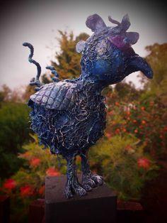 I've got the blues Faeries, Garden Sculpture, Attitude, Blues, Sculptures, Wall Art, Gallery, Outdoor Decor, Artwork