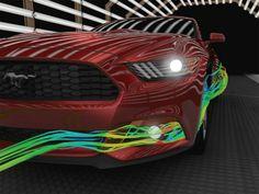 2015 Ford Mustang More Aerodynamic