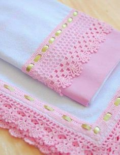64 Ideas For Knitting Stitches Lace Tricot Crochet Edging Patterns, Crochet Lace Edging, Crochet Borders, Crochet Diagram, Crochet Designs, Crochet Flowers, Crochet Hooks, Baby Blanket Crochet, Crochet Baby