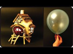 ❣DIY Fairy House Lamp Using a Balloon❣