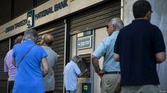 Greece debt crisis: ECB 'to end' bank emergency lending