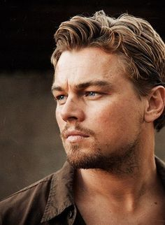 DiCaprio... What a man he's grown in too. Fabulous actor Train wreck in pimpville. Lol Ah young ........