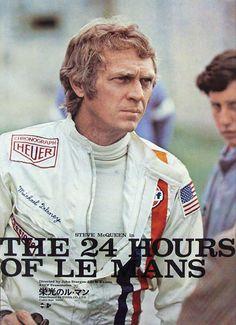 Steve Mc Queen    Japanese Le Mans movie poster