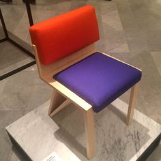 Pouic the Jolie Jolly dining chair by Thierry Dreyfus and Yota Design