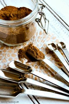 DIY Pumpkin Pie Spice for all the pumpkin recipes this fall!