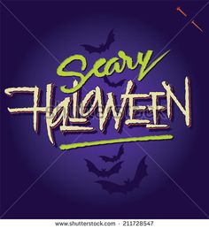 HALLOWEEN hand lettering -- custom handmade calligraphy, vector (eps8) - stock vector #download #stock #StockImages #microstock #royaltyfree #vectors #calligraphy #HandLettering #lettering #design #letterstock #silhouette #decor #printable #printables #craft #diy #card #cards #label #tag #sign #vintage #typography