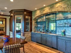 HGTV's Best Pictures of Kitchen Cabinet Color Ideas From Top Designers : Rooms : Home & Garden Television