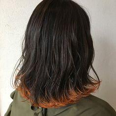【HAIR】岡本 光太さんのヘアスタイルスナップ(ID:348013)。HAIR(ヘアー)では、スタイリスト・モデルが発信する20万枚以上のヘアスナップから、髪型・ヘアスタイル・ヘアアレンジをチェックできます。 Hair Color Streaks, Balayage Color, Balayage Hair, Dip Dye Hair, Dyed Hair, Aesthetic Hair, Stylish Hair, Hair Inspo, Cute Hairstyles