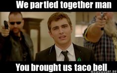 taco bell brings people together.