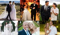 Celebrity weddings — extravagant, over-the-top, and sometimes, oh-so-secretive. These celebs tied the knot in 2015. Some of their nuptials were massive, others were intimate, and others were kept under wraps for a long, long time. Let the wedding bells chime!