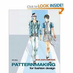 Amazon Fashion Design Books Patternmaking for Fashion