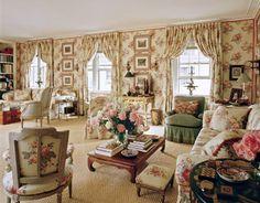 1980s Home Decor | Mark Hampton's Living Room Makeovers - Pictures of Mark Hampton's ...