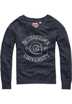 Product: Georgetown University Women's Crewneck Sweatshirt