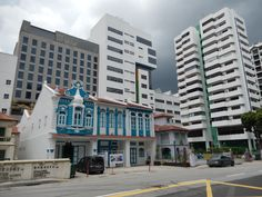 Singapur - stará a nová architektura na jednom místě - 2/2017