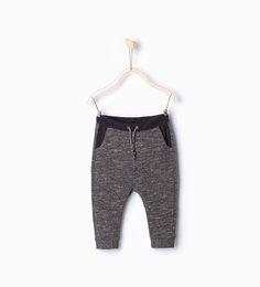 ZARA - KIDS - Trousers with contrasting waist