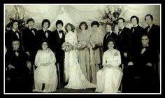 Donny and Debbie's wedding May 8, '78 I wonder where Merrill is?
