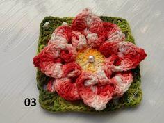 Flor de crochê confeccionada em barbante barroco. Esta flor é ideal para você que sabe fazer crochê; Mais não gosta ou não sabe fazer flores. Pois ela podem ser usada na confecção de muitos produtos como:  Como tapetes, almofadas, caminho de mesa, centros de mesas, cortinas e etc...  Se você quer concluir trabalhos belíssimos...  Então esta é uma ótima oportunidade. Compre flores já prontinhas e depois é só utilizá-las na confecção de suas peças.  Eu garanto que qualquer trabalho ficará…