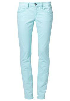 Turquoise pants, edc by Esprit