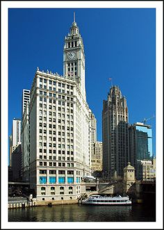 Wrigley Building in Chicago, USA
